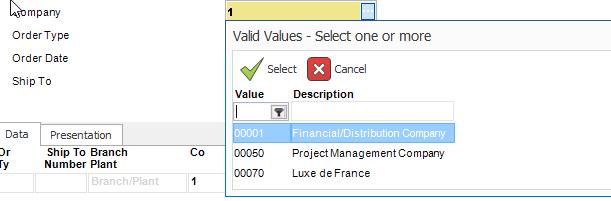 Parameter Definitions | ReportsNow DAS User Guide