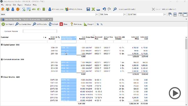 Data Access Studio – ReportsNow