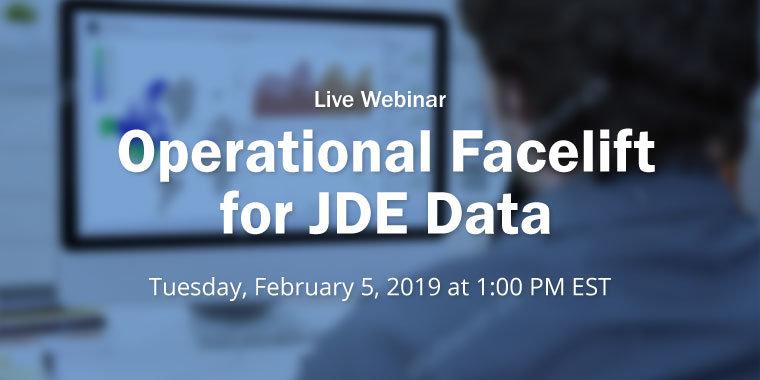 Operation Facelift for JDE Data