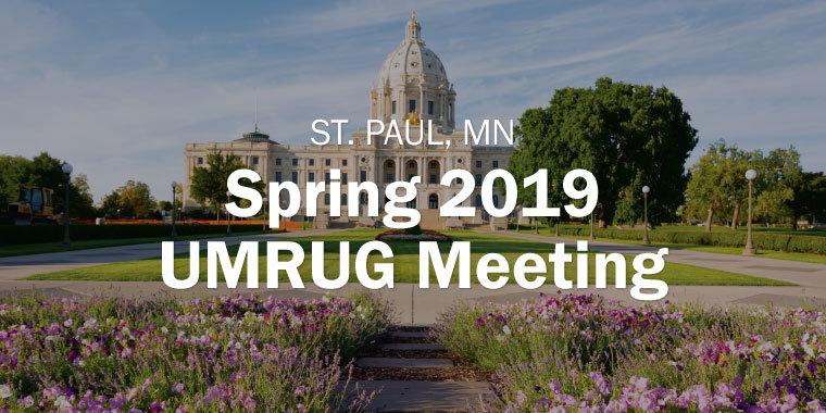 Spring 2019 UMRUG Metting