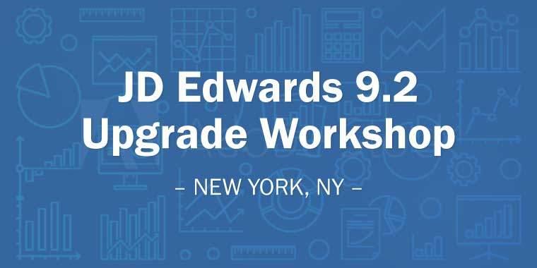 JD Edwards 9.2 Upgrade Workshop