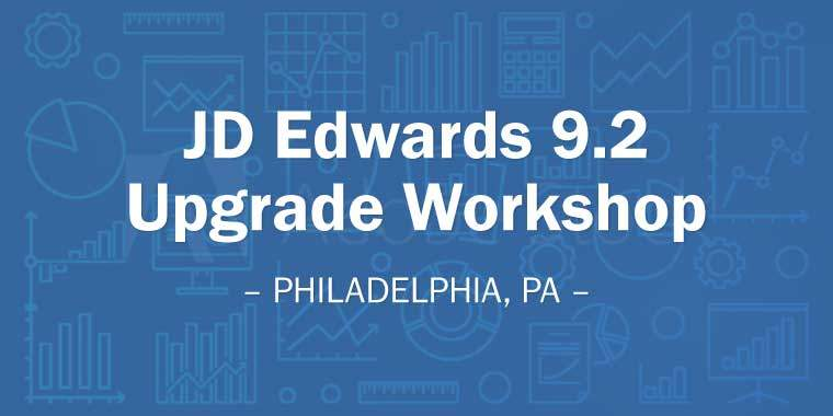 JD Edwards 9.2 Upgrade Workshop