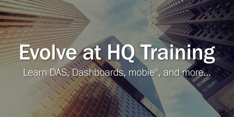 Evolve at HQ Training