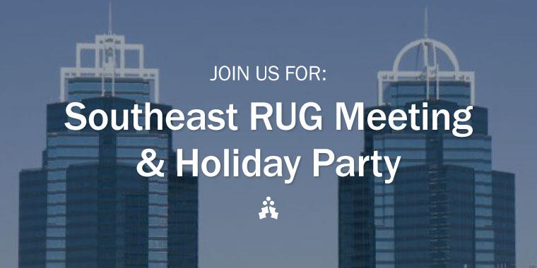 Southeast RUG Meeting
