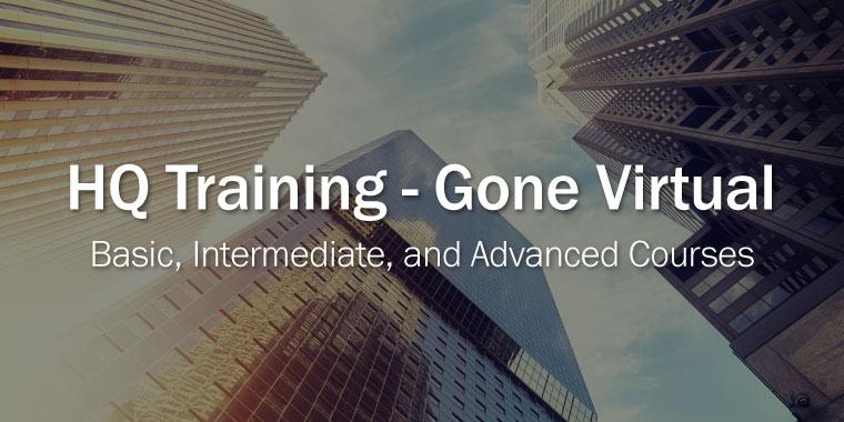 HQ Training - Gone Virtual