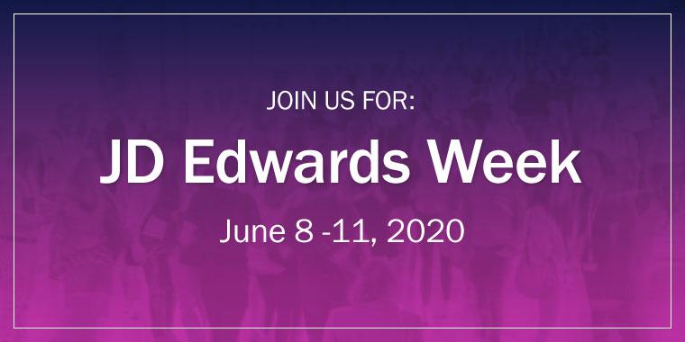 JD Edwards Week