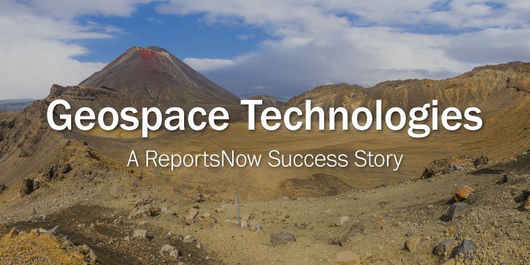 Geospace Technologies - A ReportsNow Success Story