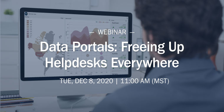 Data Portals: Freeing Up Helpdesk Everywhere