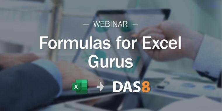 Formulas for Excel Gurus